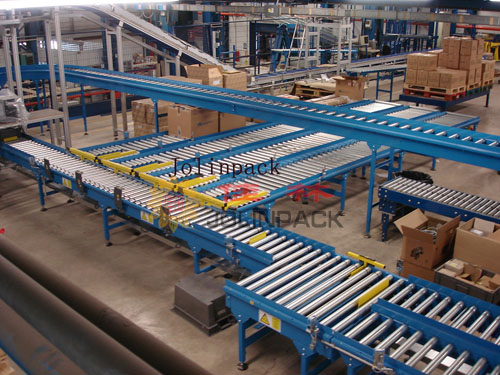 Conveyor for logistic ware house