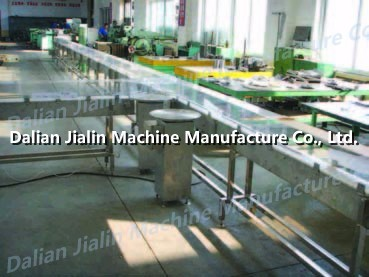 Food cans conveyor system