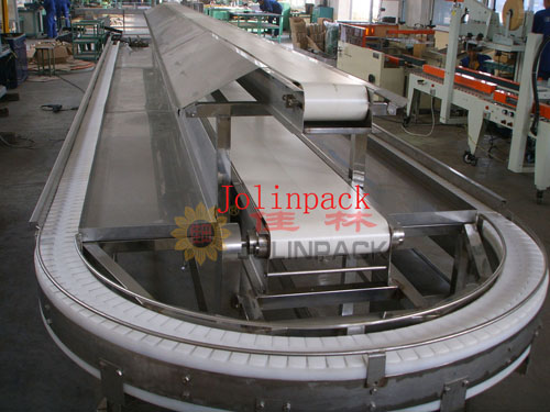 Auto food-sorting belt conveyor