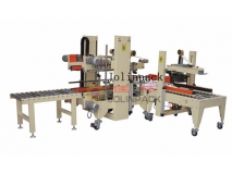 Full auto carton flap folding sealer