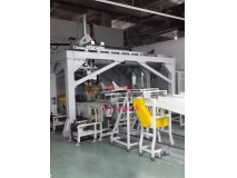 Orthogonal axes packing machine